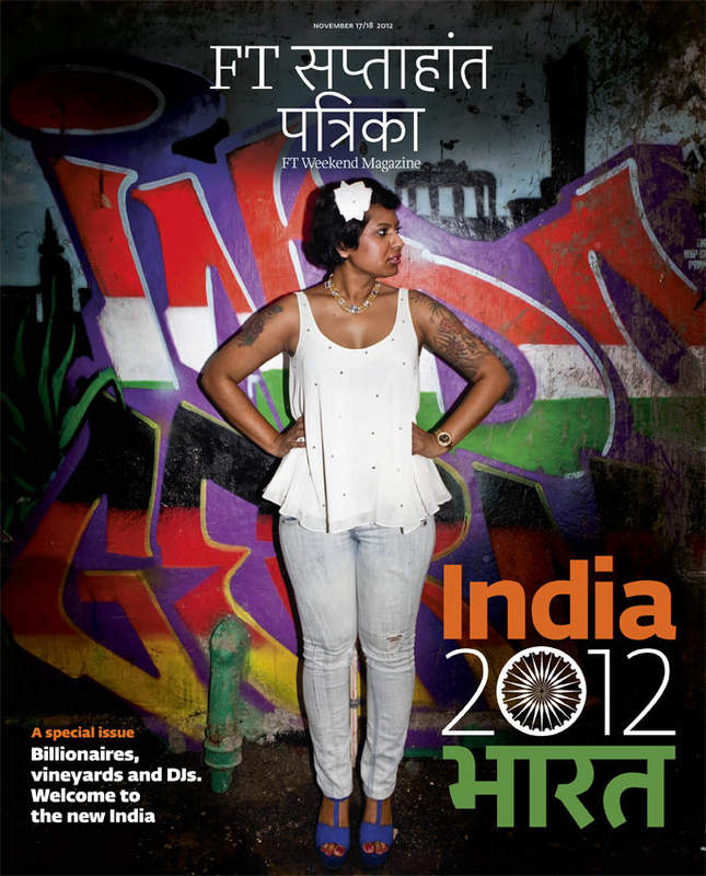 FT Weekend Magazine India special cover, November 2013