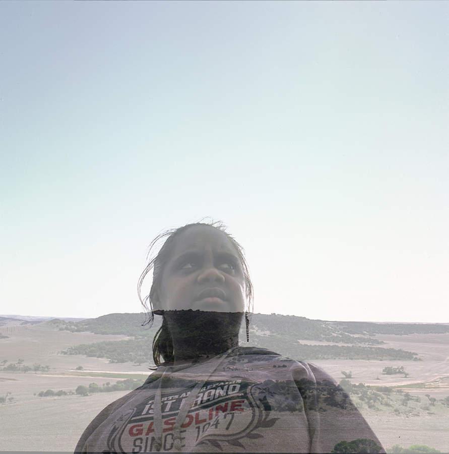 Tyesha from the series Aboriginal Teenagers by Sonal Kantaria