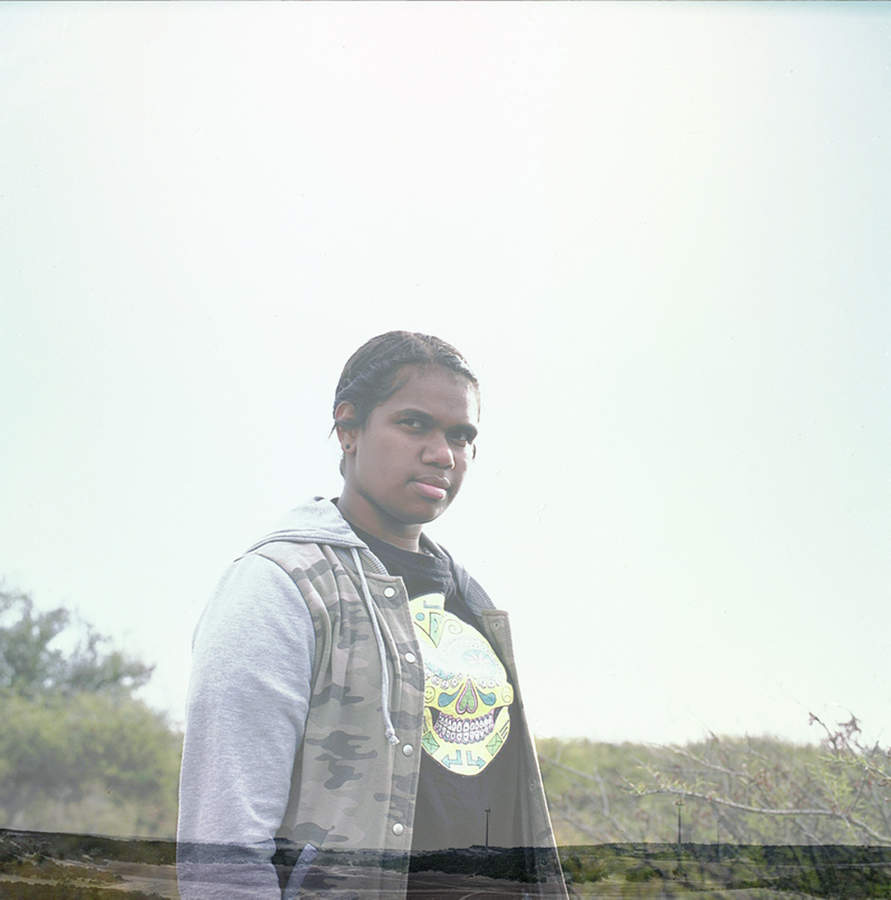 Kelisha from the series Aboriginal Teenagers by Sonal Kantaria